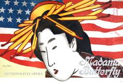 Madama Butterfly Met Opera Poster