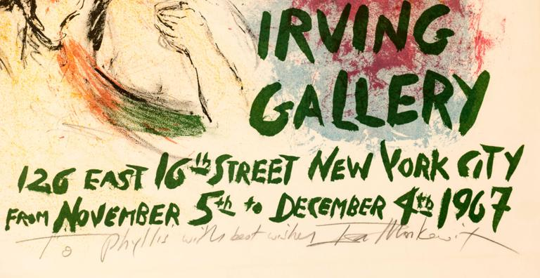 Exhibition Poster   - Print by Ira Moskowitz