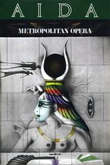 Aida Met Opera Poster
