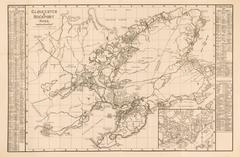 Gloucester and Rockport Massachusetts Map