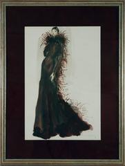 Framed Fashion Watercolor