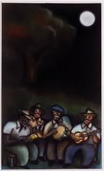 Cuban Street Musicians Moonlight Serenade
