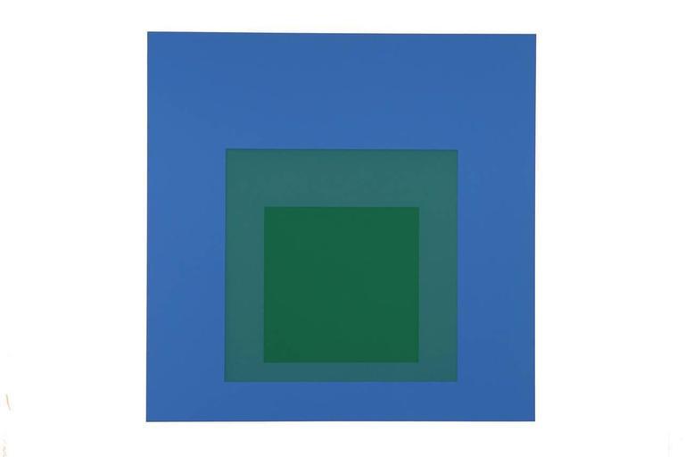 Josef Albers Abstract Print - Formulation : Articulation Portfolio II Folder 33 (A)