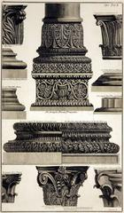 Roman Bases and Capitals