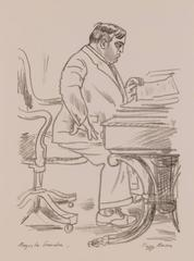 Mayor Fiorello LaGuardia at His Desk