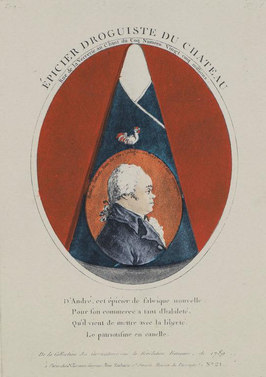 The Most Celebrated Grocer of the Chateau - Print by Unknown