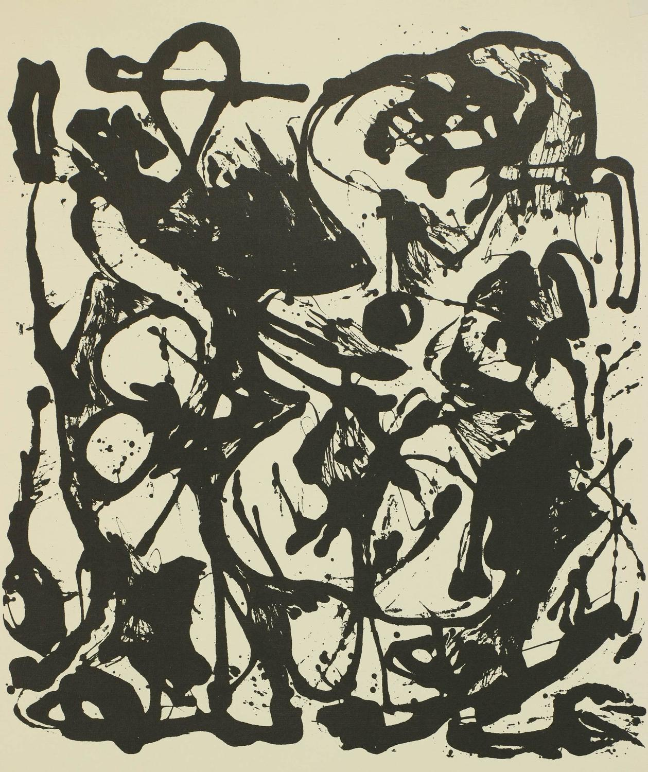 Water Essay Jackson Pollock  Select American Painters Of The Fifties Print For Sale  At Stdibs Reflection Paper Example Essays also Argumentative Essay Thesis Examples Jackson Pollock  Select American Painters Of The Fifties Print For  Essays On A Good Man Is Hard To Find