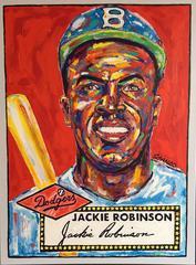 Baseball Card: Jacki Robinson