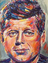 Presidentail Portrait Series: Kennedy