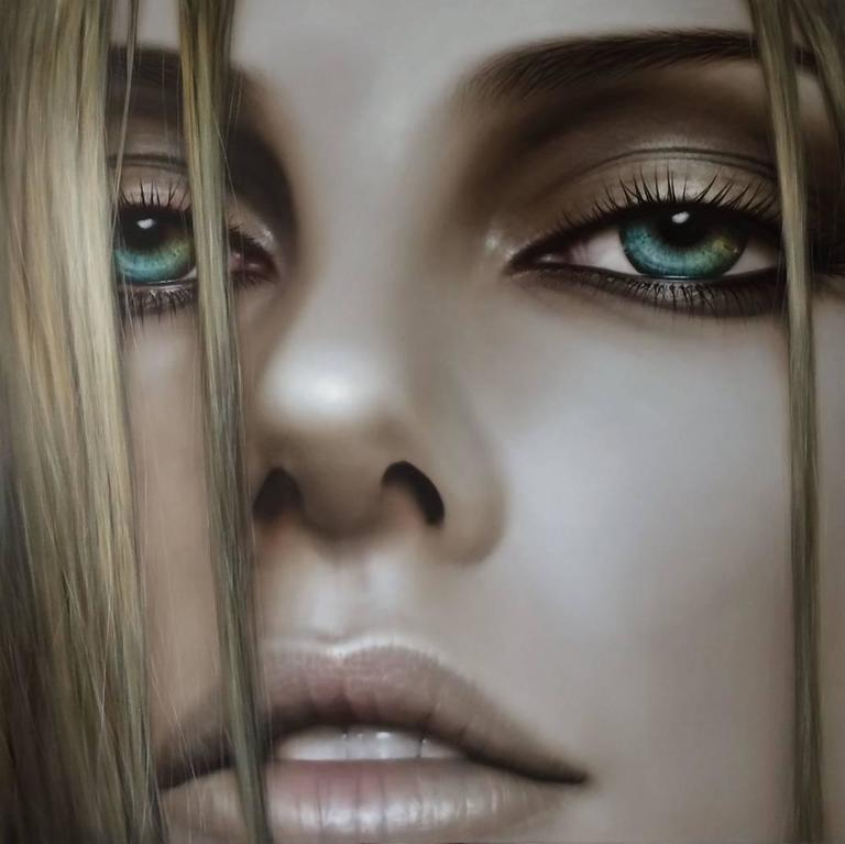Machiko edmondson parallel lines painting at 1stdibs for Hendrickson s fine jewelry