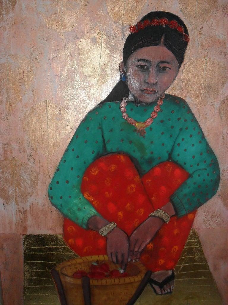 Susan Jayne Hocking - Counting Apples 1