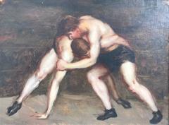 """""""Les Lutteurs""""/ The Wrestlers"""