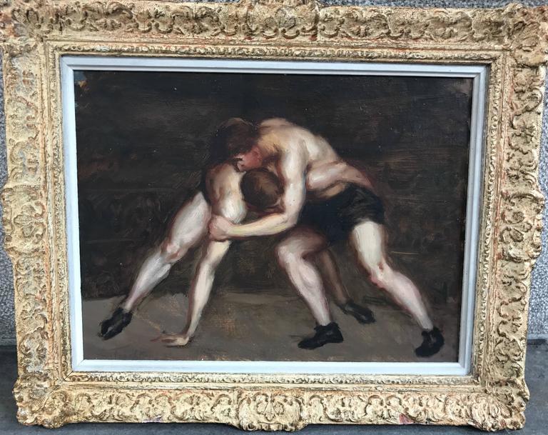 """""""Les Lutteurs""""/ The Wrestlers 2"""