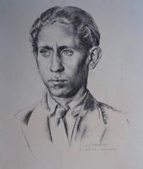 James Stroudley - Portrait of Adriane Madami