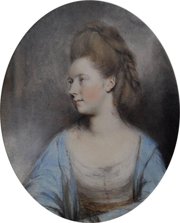 Hugh Douglas Hamilton Portrait - The Duchess of Ancaster