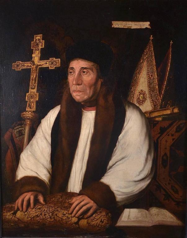 PORTRAIT OF WILLIAM WARHAM