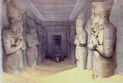 Interior of the Great Temple of Aboo Simbel