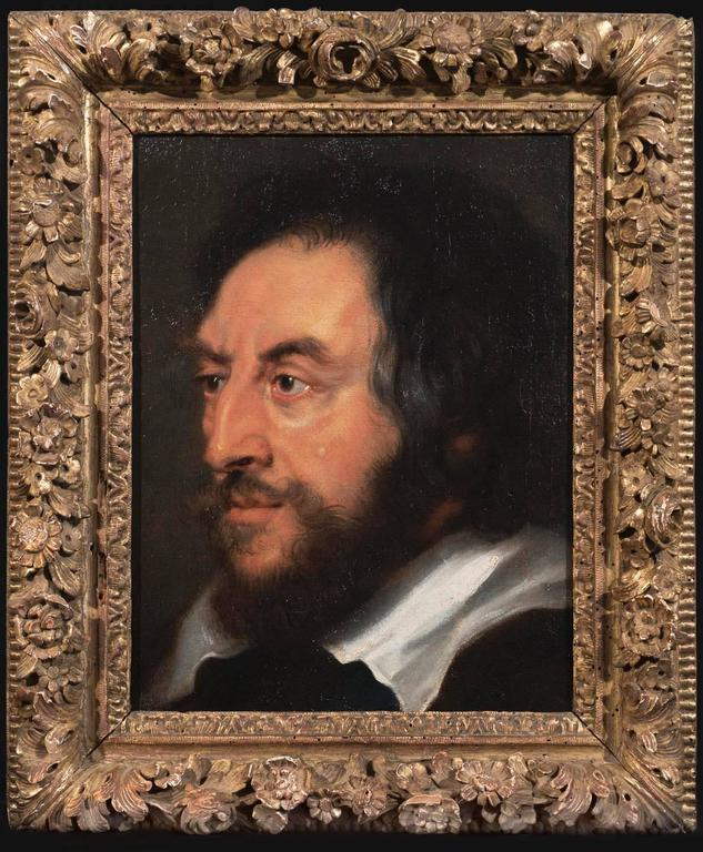 Peter Paul Rubens Portrait Painting - Portrait of Thomas Howard