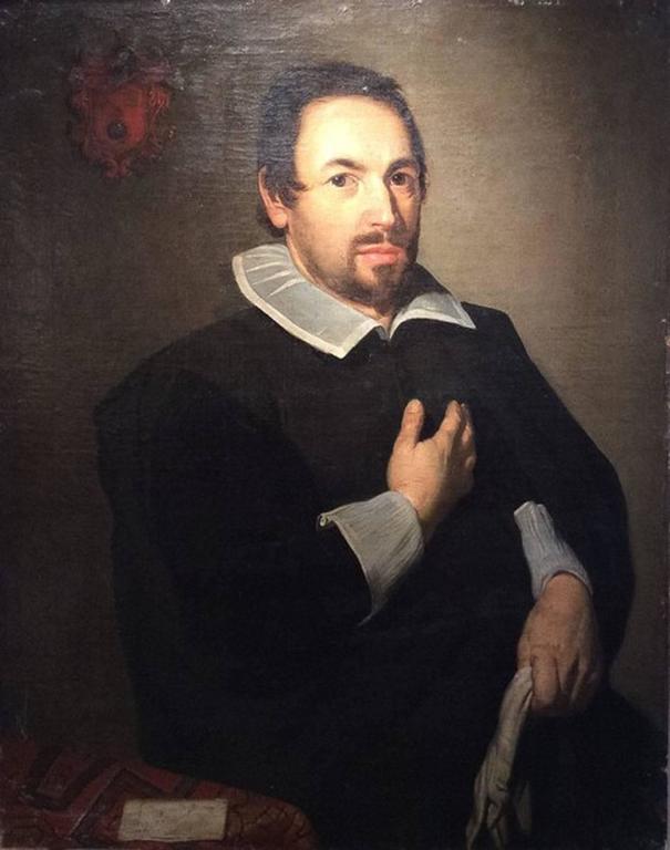 Unknown Portrait Painting - Portrait of Jacomo Fran