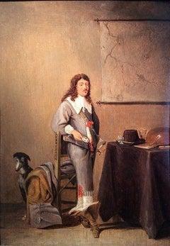 Cavalier in an Interior
