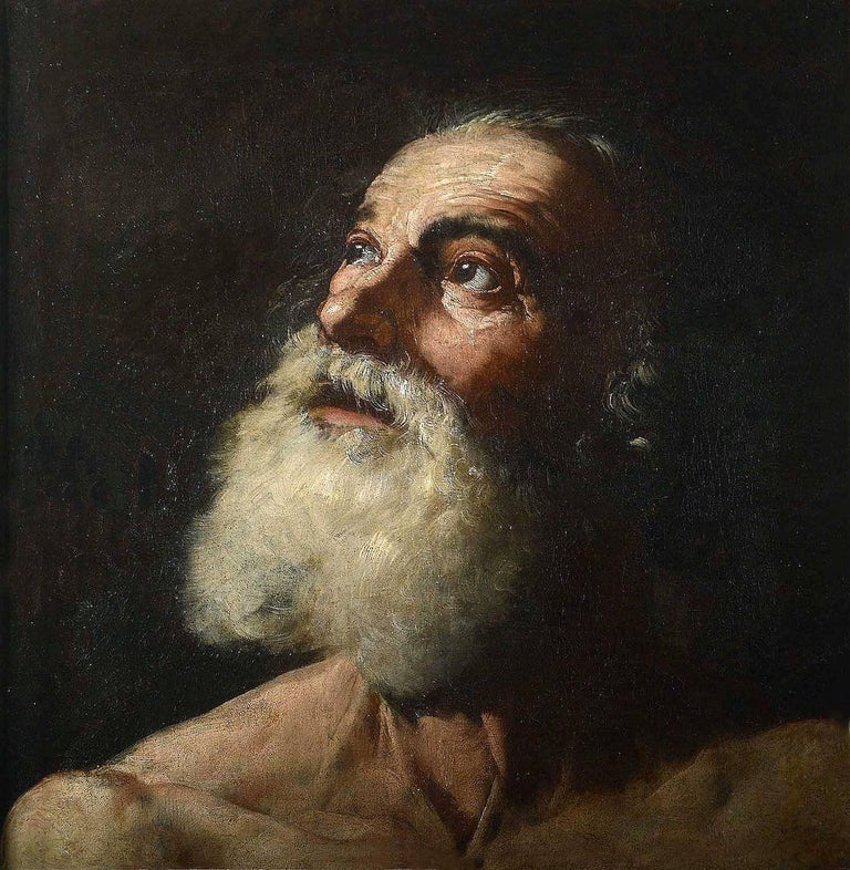 Hendrick van Someren Portrait Painting - Portrait of Saint Jerome