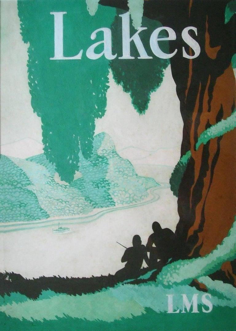 Unknown Landscape Art - Lakes