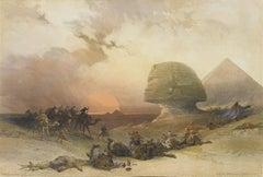 Approach of the Simoon - Desert of Geezah