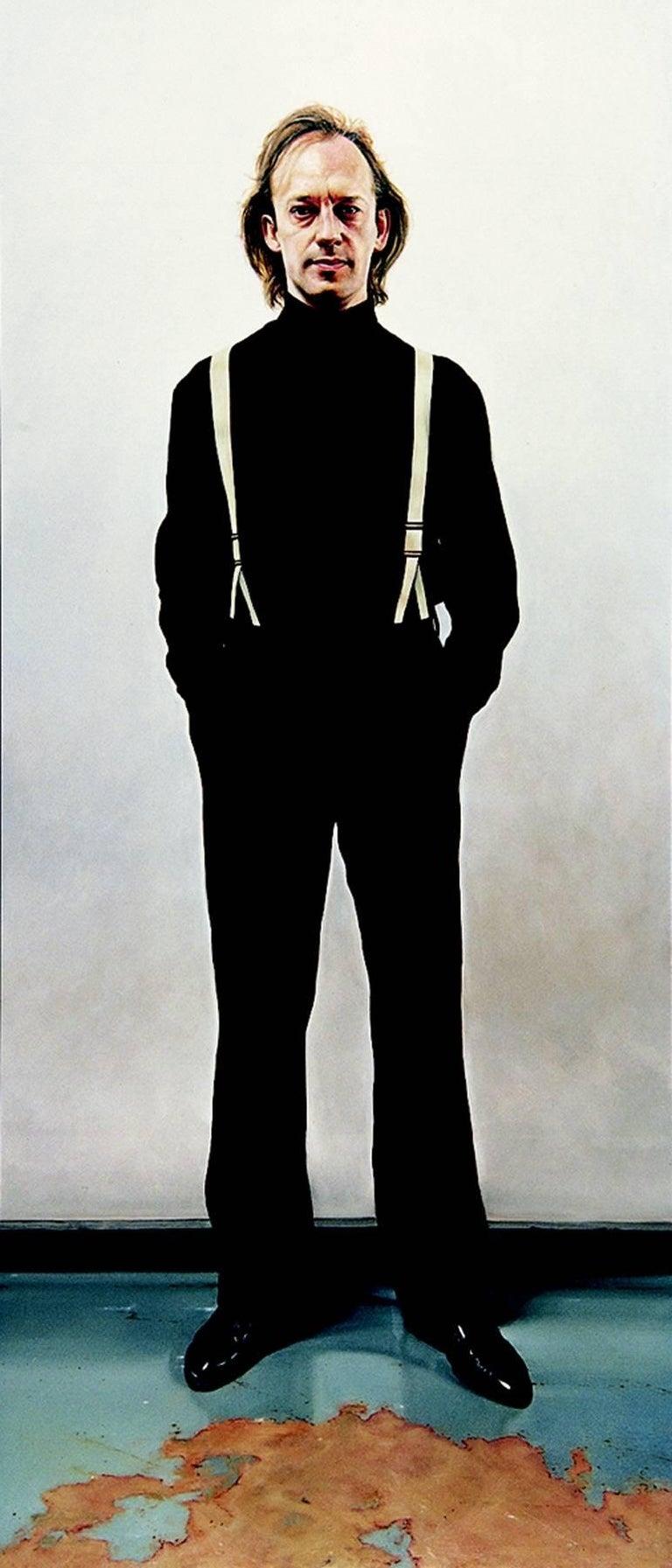 Jeremy Andrews Portrait Painting - NYC Man