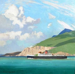 The Isle of Skye Ferry - Travel Poster Original Oil