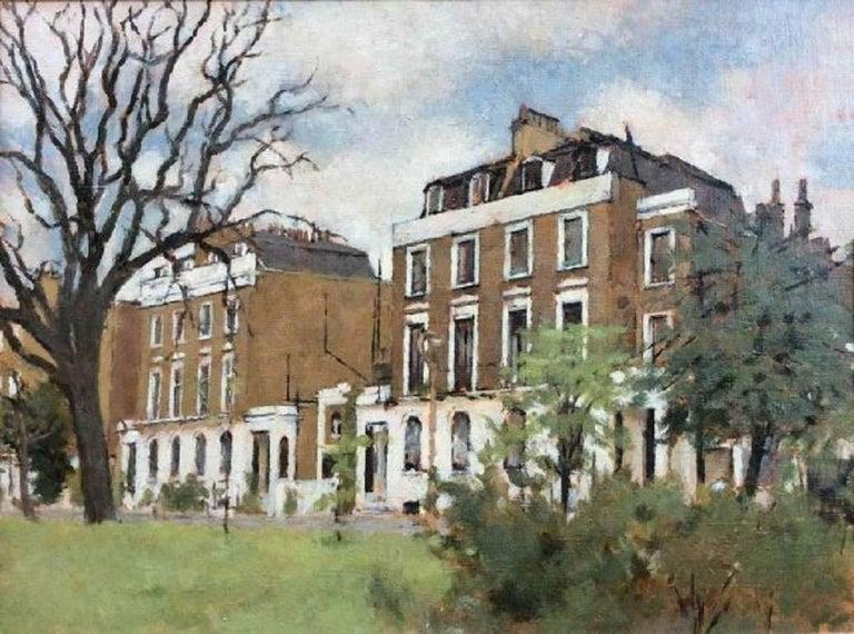 Gordon Scott Landscape Painting - Crescent Grove, Clapham - Oil, 20th Century