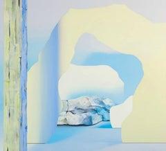 Anna Membrino, Monadnock, abstract acrylic on canvas