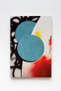 Kevin Todora, blue balls, direct inkjet on MDO abstract photography wall art