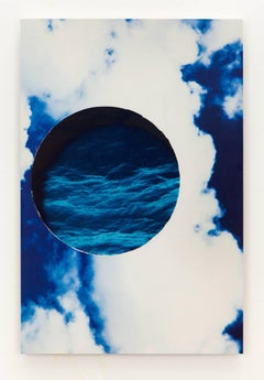 Kevin Todora, water and sky, direct inkjet on MDO photography wall art
