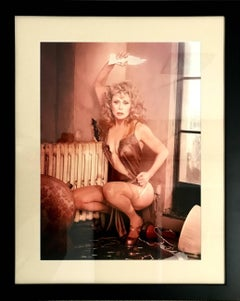 David LaChapelle - David LaChapelle, Faye Dunaway, Hollywood, Vanity Fair, framed photography