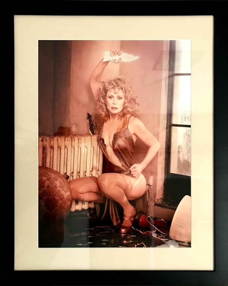 David LaChapelle, Faye Dunaway, Hollywood, Vanity Fair, framed photography  - Photograph by David LaChapelle