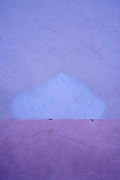 Gary Goldberg, Untitled #7, purple Oaxaca City Mexico wall unframed art print