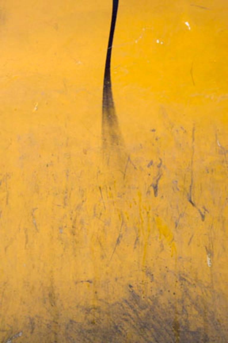 Gary Goldberg - Gary Goldberg, Untitled #18, yellow and black ...