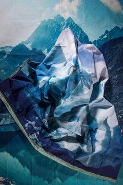 Kalee Appleton, Glacier in Glacier Lake, framed unique photography print