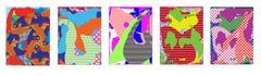 Zeke Williams, digital artwork, framed limited edition prints