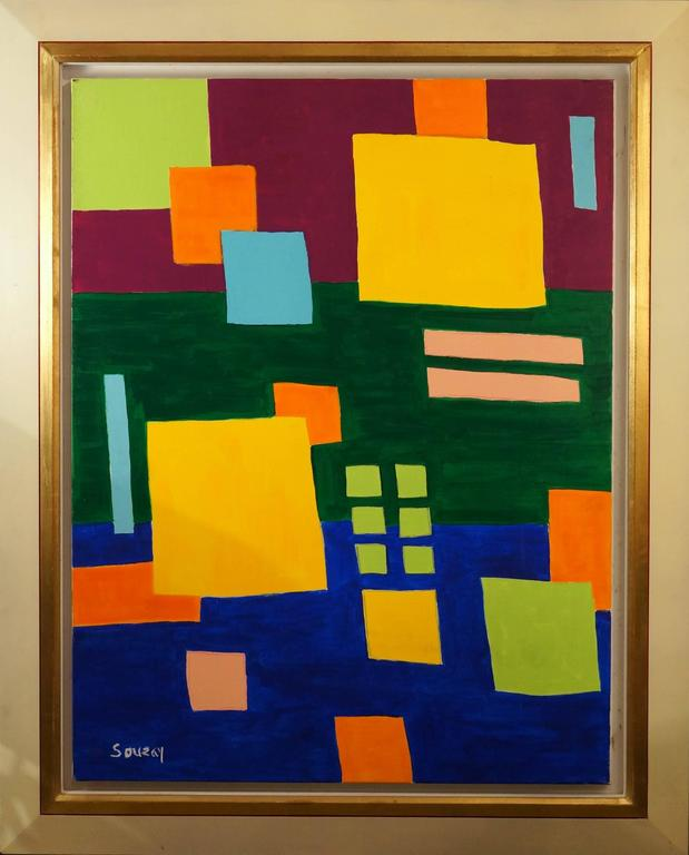 G rard souzay musical composition painting at 1stdibs for The craft of musical composition