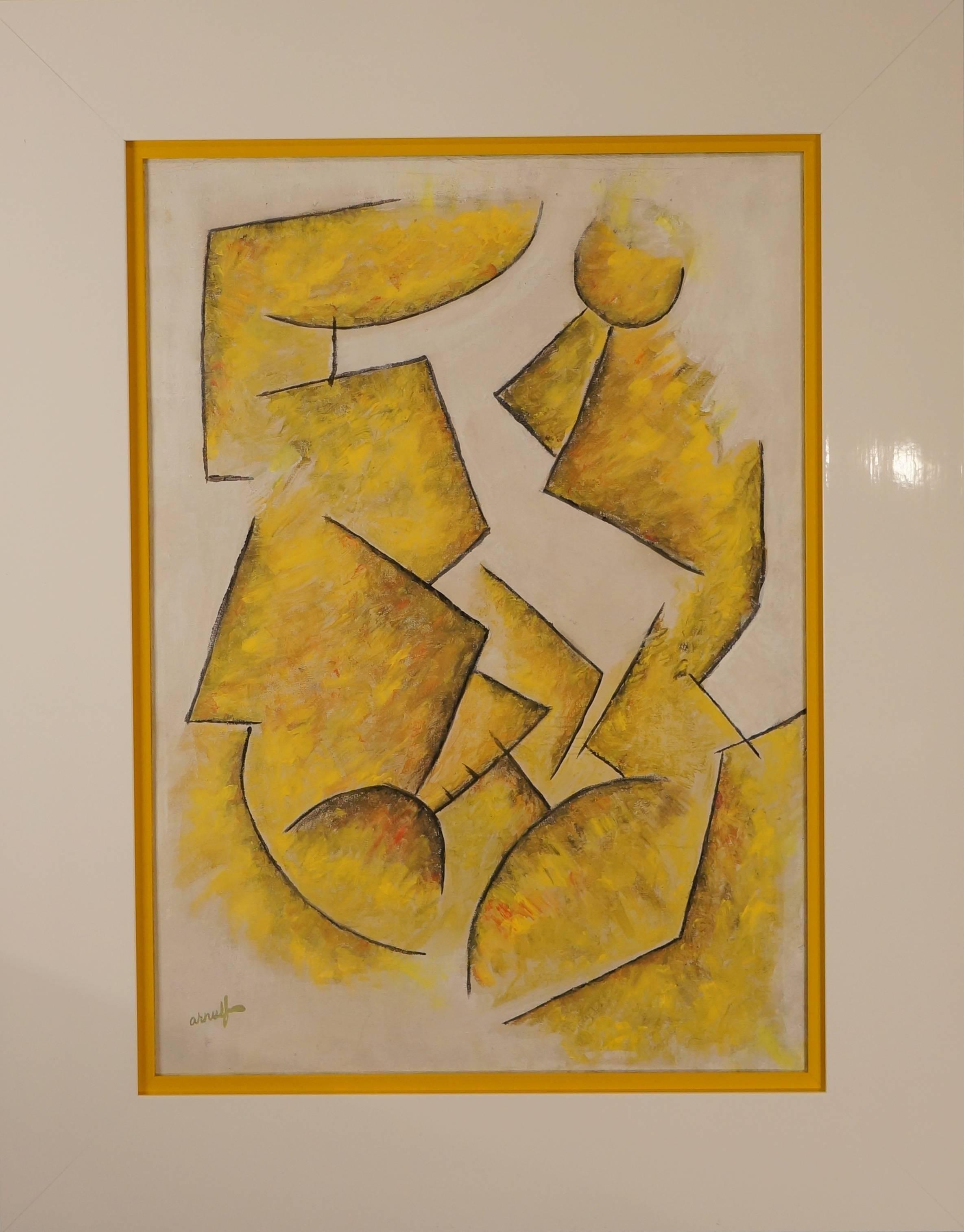 Cubisme Composition