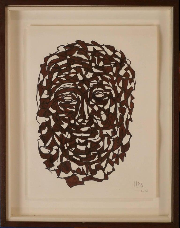 Mas Jean Figurative Painting - Face