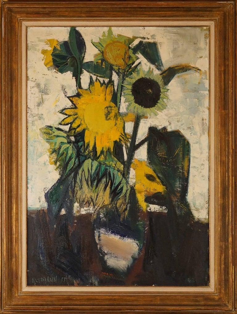 Altmann Gérard Abstract Painting - Le Bouquet