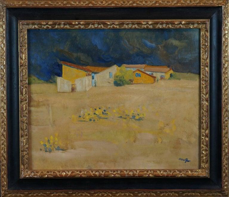 Georges Gaston Arnulf Landscape Painting - The Farm