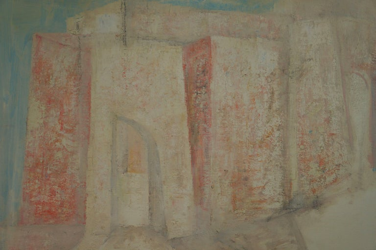 Raymond Dauphin Abstract Painting - Abstract Composition D2