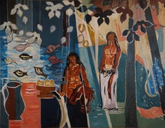 "Tribute To  Paul Gauguin "" Tropical Dream """