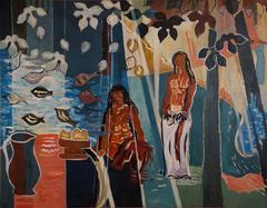 "Tribute To  Paul Gauguin "" Tropical Dream """
