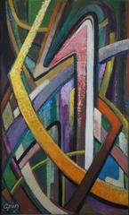 Abstract composition GI