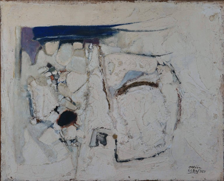 Carlin Michel Abstract Painting - Abstract Composition CII