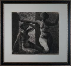 Two Women At Night